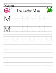 letter m handwriting practice handwriting practice language