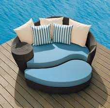 Wooden Outdoor Daybed Furniture - modern furniture modern wood outdoor furniture large slate
