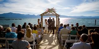 lake tahoe wedding venues weddings at lakeside weddings south lake tahoe