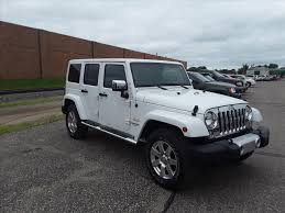 white jeep sahara 2015 jeep wrangler 4 door in minnesota for sale used cars on
