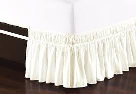 Skirted Vanity Chair De Moocci Easy Wrap Platform Free Dust Ruffle Bed Skirt U0026 Reviews