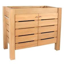 meuble cuisine 110 cm meuble sous vasque 110 cm meuble sous vasque x x cm marron moorea