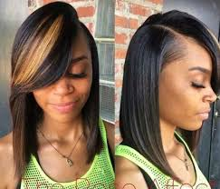 Sew In Bob Hairstyle 10 Best Side Part Bob Sew Ins Images On Pinterest Hairstyles