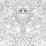 coloring pages complex page flower pdf geometric designs for
