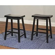 astonishing amazon com winsome wood 29 inch saddle seat bar stool