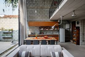 homes with interior courtyards designs by style 13 industrial style kitchen homes with small