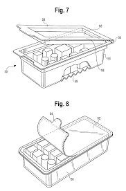 patent us7806488 medication cart drawer liner and method for