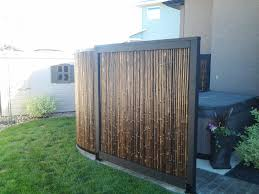 modern bamboo fence panels best house design bamboo fence panels