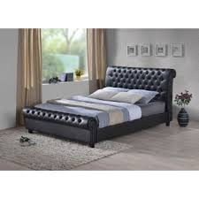 Leather Sleigh Bed Leather U0026 Fabric Beds Frames Upholstered Beds Doncaster Sure Sleep