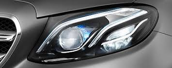 led intelligent light system light technology daimler products specials new e class