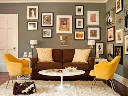 Yellow Livingroom by Decorate Behind The Sofa Diy Network Blog Made Remade Diy