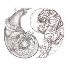 tiger tattoo designs pictures symbolism awesome tiger and dragon yin yang tattoo idea tattoo pinterest