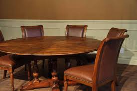 Solid Walnut Dining Table And Chairs Jupe Table Extra Large Round Solid Walnut Round Dining Table