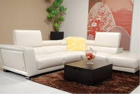 living rooms leather sectional