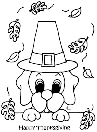 happy thanksgiving coloring pages free card colorable printable
