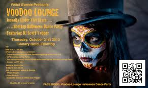 voodoo lounge 2nd annual canary rooftop halloween dance party