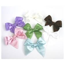 pre bows pre made satin bows set of 12