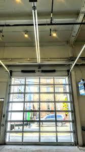 commercial aluminum glass doors commercial overhead sectional and roll up garage door