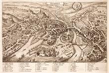bamberg germany map bamberg