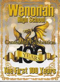 centennial celebration souvenir booklet wenonah high school grand alumni association