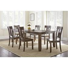 aeon furniture reid dark walnut dining table hayneedle