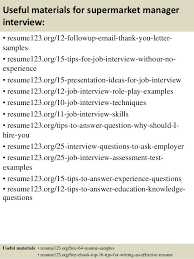 Grocery Store Manager Resume Example by Top 8 Supermarket Manager Resume Samples
