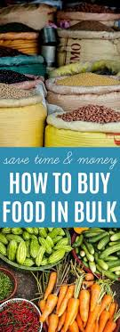 how to buy food in bulk the nourished family