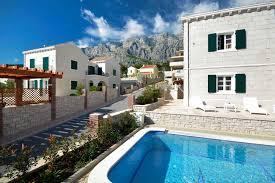 croatian villas with pool makarska villa srzich 4