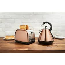 Toaster And Kettle Goodmans Copper Kettle U0026 Toaster Breakfast Set Toasters Kettle