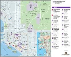 Chicago Trolley Map by San Diego Maps California U S Maps Of San Diego