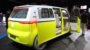 future volkswagen van volkswagen id buzz concept the microbus of the future