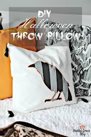 diy halloween throw pillow shabby grace