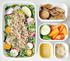 quick and healthy lunch on the go the glowing fridge