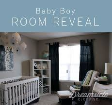 Baby Boy Bedroom Furniture Grey Walls White Furniture Navy Accents Nursery Ideas