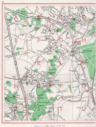 map of st albans chiswell green st albans park bricket wood garston colney