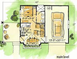 Weekend Cabin Floor Plans Plan W11534kn 1 Bedroom 1 Bath Log Cabin Plan