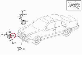 mercedes alarm system mercedes w210 burglary alarm system horn 0035426820 0035426820