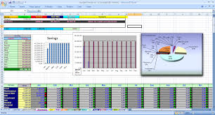 Excel Spreadsheet Budget Template home budget tracker moneyscaling