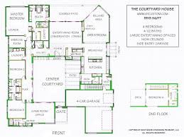 center courtyard house plans house plans with enclosed courtyard house decorations