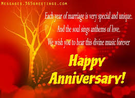 Anniversary Card Greetings Messages Wedding Anniversary Wishes And Messages Anniversary Message
