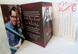 tri fold wedding invitations cool collection of tri fold wedding invitations 2017 thewhipper