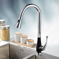 kitchen faucet industrial industrial pullout black painting brass kitchen faucets