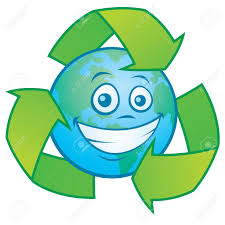 imagenes animadas sobre el reciclaje vector ilustración de dibujos animados de un personaje de la tierra