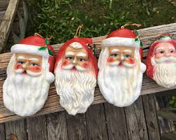 Blow Mold Christmas Yard Decorations Blow Mold Etsy