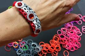 Ideen Mit Steinen Ideen Mit Herz Loom Bänder Armband Idee Nr 5 Mit Prinzess