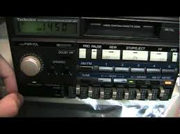toyota car stereo 1985 technics toyota am stereo car radio
