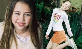 young little girls src miley cyrus modelling shoot when she was 11 year old girl named