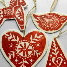 scandinavian ornaments by luck to the