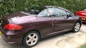 sale peugeot peugeot 307cc for sale on ebay youtube