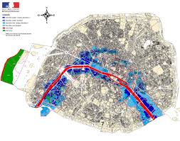 Flood Map Paris Flood Map Map Of Paris Flood France